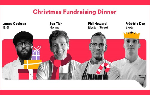 A culinary Christmas cracker of a line-up